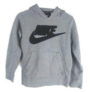 Nike Boys Pullover Hoodie Felt Logo Spellout Large